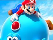 Mario Ve Yoshi Mavi Bulmaca