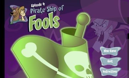 Scooby Doo korsan gemisi