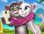 Tom ve Angela Selfie