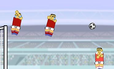 Fizik Futbolu Kral Oyun Kuzusu Kolu Cini Kutusu Oyna Futbol Oyunları