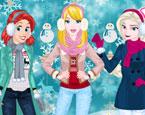 Prensesler Kış Çılgınlığı