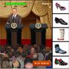 Bush'a Ayakkabı Fırlat