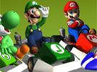 Süper Mario : Araba Yarışı